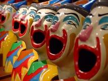 Clown. Game at luna park Stock Photo