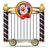 Clown Stockbild