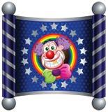 Clown. Template Circus theme (Happy Clown vector illustration