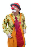 The clown. Life of clowns. All series by a key word mimes Stock Photo