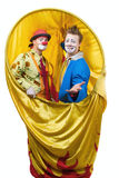 The clown. Life of clowns. All series by a key word mimes Stock Images