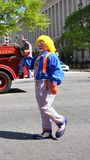 Clown. Lizenzfreies Stockfoto