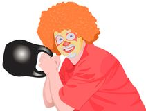 clown Royaltyfri Foto