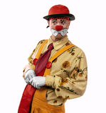 Clown. Life of clowns. All series by a key word mimes Royalty Free Stock Photos