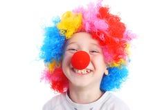 Clown Arkivfoto