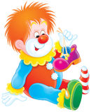 Clown Royalty Free Stock Photography
