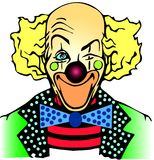 Clown illustration stock