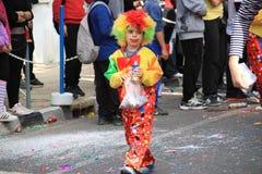 Clown. Royalty-vrije Stock Afbeeldingen