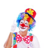 Clown Arkivfoton