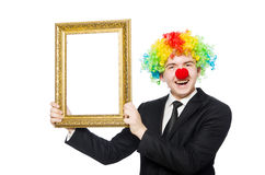 clown Royaltyfri Bild