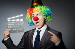 Clown Royalty-vrije Stock Afbeeldingen