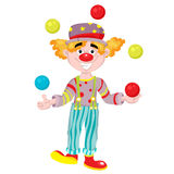 clown Arkivfoto