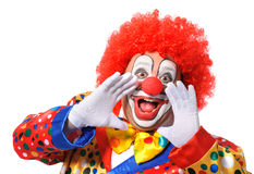 Clown Photos libres de droits