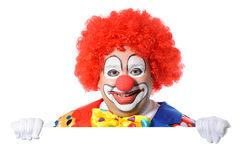 clown royaltyfri fotografi