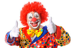 clown Royaltyfria Bilder