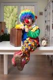 clown royaltyfria bilder