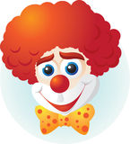 Clown. Happy clown and funny days Stock Images