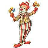 Clown lizenzfreie stockfotografie