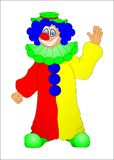 Clown Photographie stock