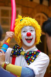 Clown. In action Royalty Free Stock Images