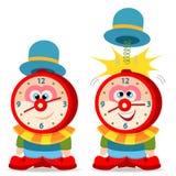 Clown alarm clock Royalty Free Stock Images