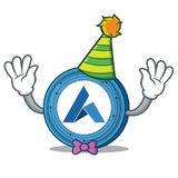 Clown Ardor coin mascot cartoon. Vector illustration Stock Photo