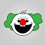 Clown baby. Vector art design Royalty Free Stock Photography