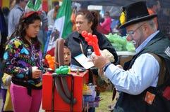 Clown Balloon Artist Royalty Free Stock Photos