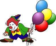 Clown Balloons Royalty Free Stock Image