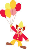 Clown and balloons Royalty Free Stock Photography