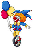 A clown with balloons Royalty Free Stock Photos