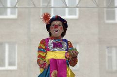Clown Bantik, A.Epatova Royalty Free Stock Photos
