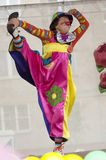 Clown Bantik, A.Epatova Stock Images
