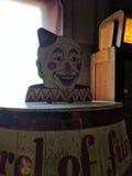 Clown barrel Royalty Free Stock Image