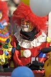 Clown bij Carnaval parade Royalty-vrije Stock Foto