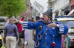 Clown Bluey performing Royalty Free Stock Photo