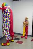 Clown boudant Images stock