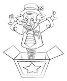 Clown Box Stock Images