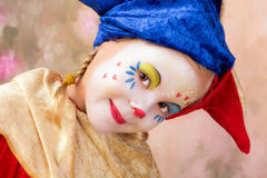 Clown with braids Stock Image
