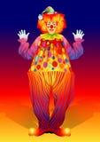 Clown in broeken Royalty-vrije Stock Foto's