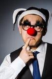 Clown businessman Royalty Free Stock Photos