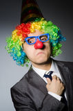 Clown businessman Stock Images
