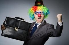 Clown businessman Royalty Free Stock Photo