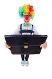 Clown businessman Royalty Free Stock Photo