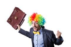 Clown businessman Royalty Free Stock Image