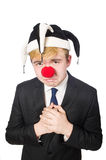 Clown businessman Stock Photography