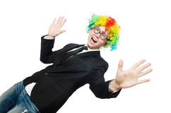 Clown businessman Royalty Free Stock Photos