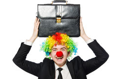 Clown businessman Royalty Free Stock Photography