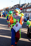 Clown on carnival Royalty Free Stock Photos