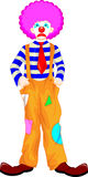Clown cartoon Royalty Free Stock Photography